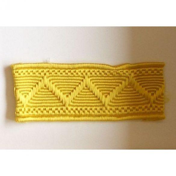 Paszomány (25m/köteg) - sárga 22 mm