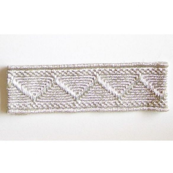 Paszomány (25m/köteg) - ezüst 10 mm