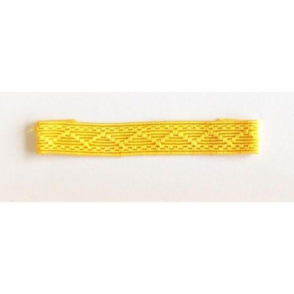 Paszomány (25m/köteg) - sárga 10 mm