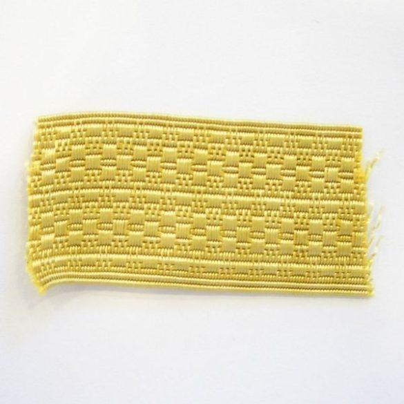 Paszomány (50m/köteg) - sárga 20 mm