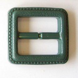 Övcsat - zöld 3,5 cm