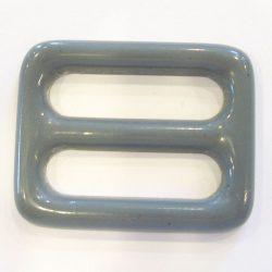 Övcsat műanyag - világosszürke