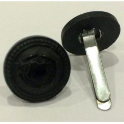 Button - black 15mm