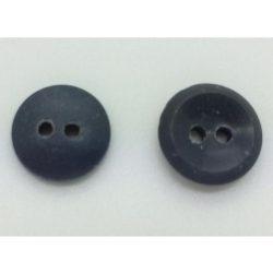 2 lyukú Gombík - sivá 12 mm