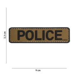 Police PVC felvarró