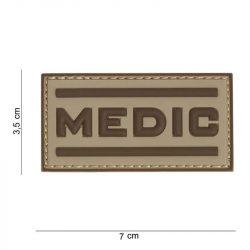 Medic PVC felvarró - sivatagi