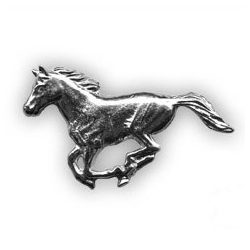 Vadász kitűző - ló