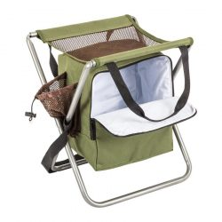 M-Tramp kemping szék, összecsukható szék hűtőtáskával