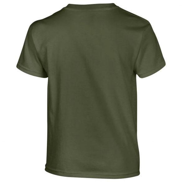 Gildan T-Shirt enfant - vert militaire
