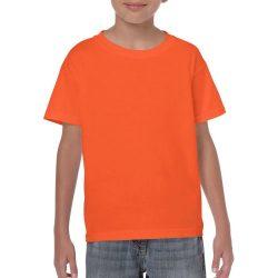 Gildan gyerek póló - narancs