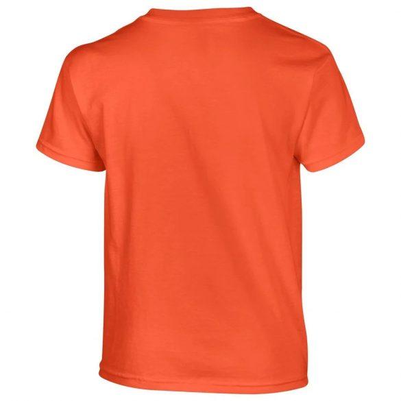 Gildan gyerek póló - narancs L