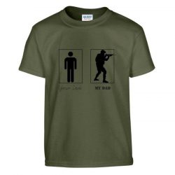 Your Dad, my Dad Kid's T-Shirt - green