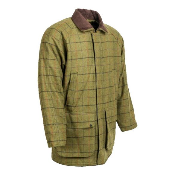 M-Tramp Derby Tweed gyapjú vadászkabát - M