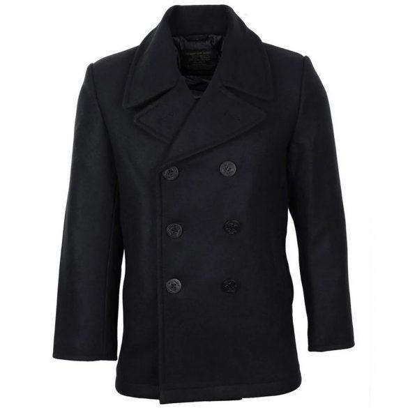 Mil-Tec tengerész kabát - fekete 2XL