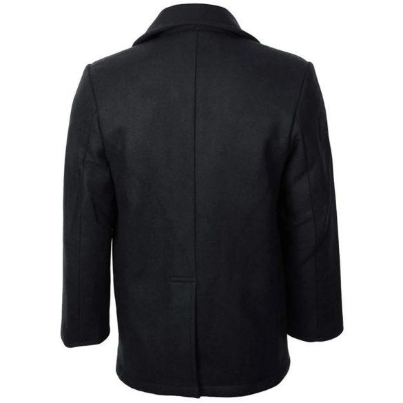 Mil-Tec tengerész kabát - fekete M
