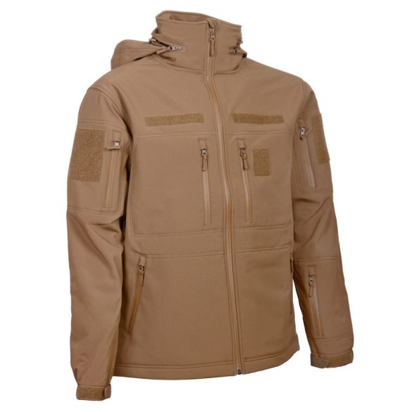 Gurkha Tactical Bravo softshell dzseki - coyote