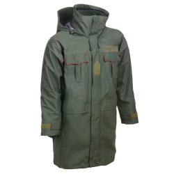 Esővédő kabát kivehető fleece béléssel (új) - zöld
