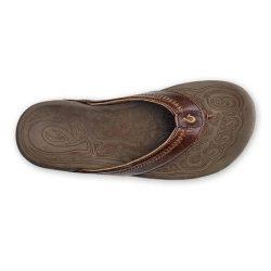 Olukai Hiapo papuče - tmavo hnedá US 8 (41)