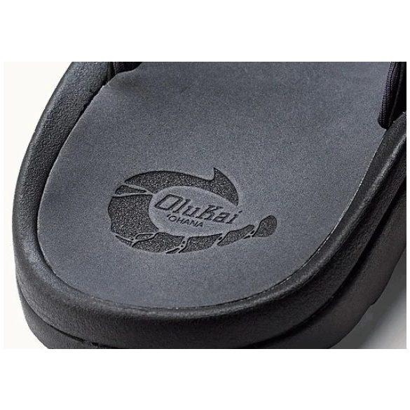 Olukai Ohana papucs - fekete US 8 (41,5)