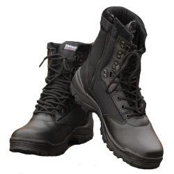 Mil-Tec cipzáros taktikai bakancs - fekete 48