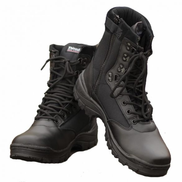 Mil-Tec cipzáros taktikai bakancs - fekete 39