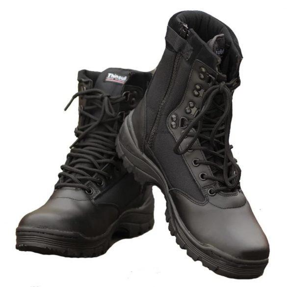 Mil-Tec cipzáros taktikai bakancs - fekete 43