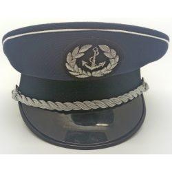 MH hadihajózó tányér sapka - ezüst