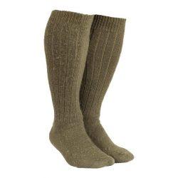 BW gyapjú zokni (használt) - zöld