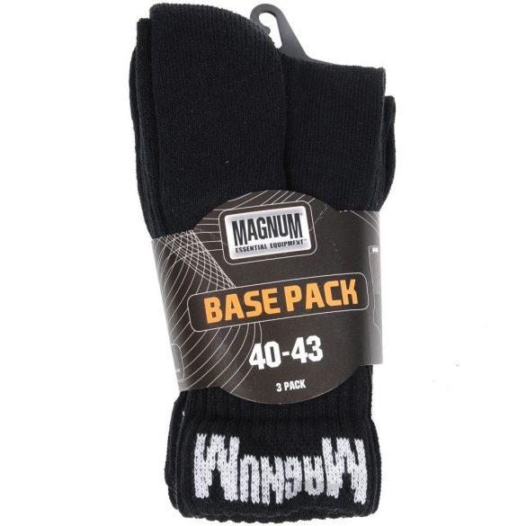 Magnum Base Pack zokni - fekete 44-47