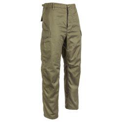 M-Tramp fleece bélelt BDU nadrág - zöld