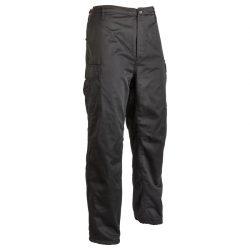 M-Tramp fleece bélelt BDU nadrág - fekete
