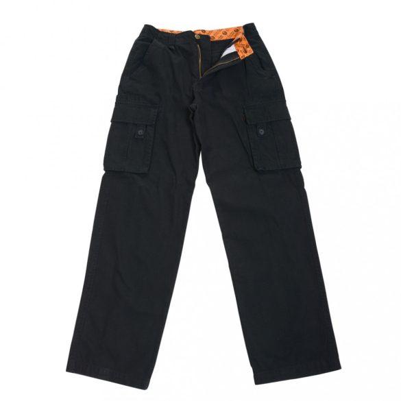 M-Tramp Military Fashion nadrág - fekete XXS