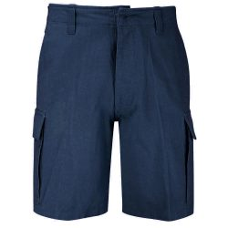 Kőmosott moleszkin short, bermuda, rövidnadrág - kék