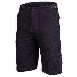 Mil-Tec ripstop short, bermuda, rövidnadrág - fekete