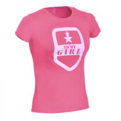 Army Girl póló - azálea