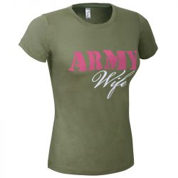 Army Wife póló - khaki
