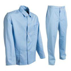 BW kórházi öltöny - világoskék