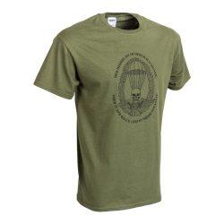 Ejtőernyős póló (német) - military-zöld