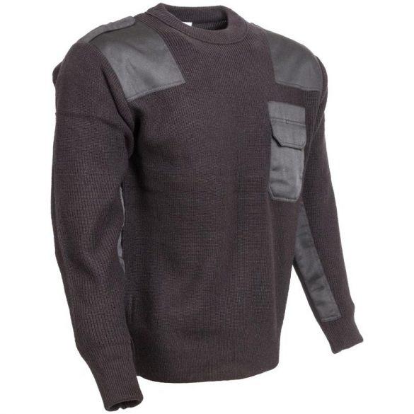 M-Tramp O-nyakú pulóver - fekete S