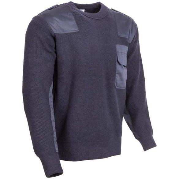 M-Tramp O-nyakú pulóver - kék M
