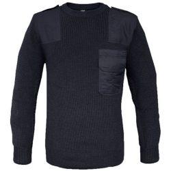 Mil-Tec O-nyakú pulóver - kék