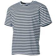 Mil-Tec orosz tengerész póló - fehér/kék csíkos XL