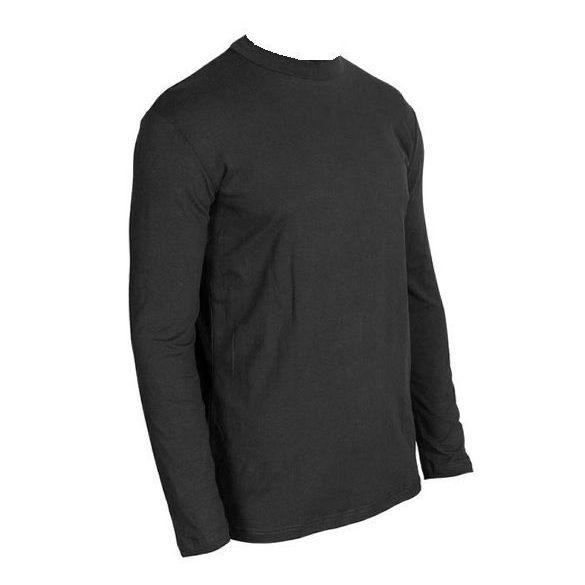 Gurkha Tactical hosszú ujjú póló - fekete M