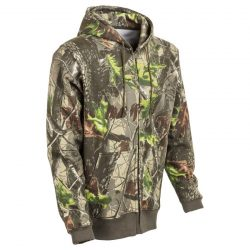 M-Tramp Herne kapucnis pulóver - zöld-hardwood