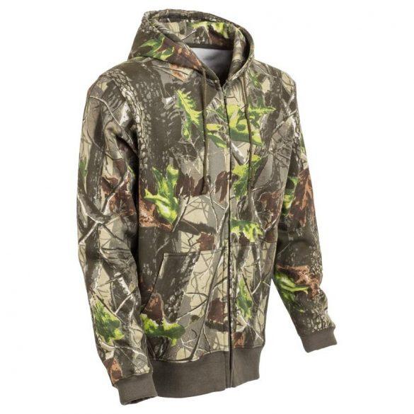 M-Tramp Herne kapucnis pulóver - zöld-hardwood S