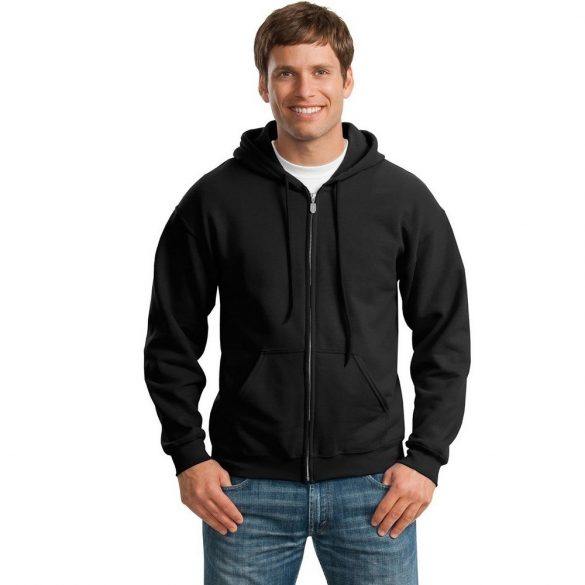 Gildan GI18600 kapucnis pulóver - fekete M