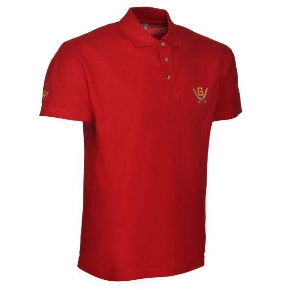 Gurkha Tactical piké póló - piros M