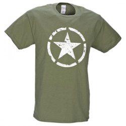 M-Tramp Military póló - military-zöld
