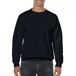 Gildan pulóver - fekete