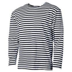 Mil-Tec orosz tengerész póló - fehér/kék csíkos